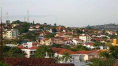 Vista do município Águas de São Pedro, em São Paulo
