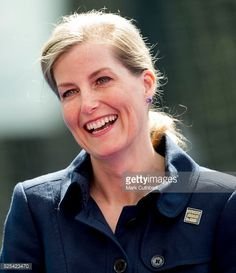 Sophie Countess of Wessex Patron of England Hockey meets team members at Bisham Abbey on April 28 2016 in Marlow England
