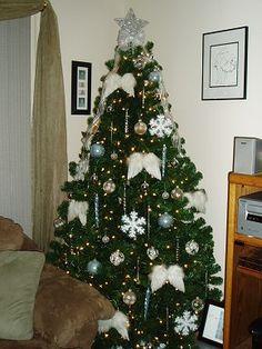 Angel Theme Christmas Tree – Christmas Tree Themes & Color Schemes