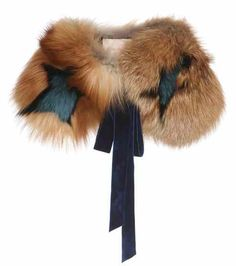 Cimino star-printed fox fur collar | Roksanda