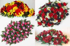 A Year of Remembrances is an annual subscription service for seasonal Premium Headstone Sprays from Graveside Flowers. Grave Flowers, Cemetery Flowers, Funeral Flowers, Silk Flowers, Funeral Flower Arrangements, Artificial Flower Arrangements, Artificial Flowers, Floral Arrangements, Cemetary Decorations