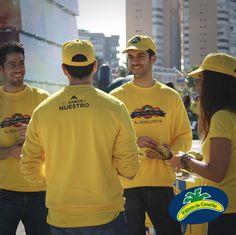 Sol y sonrisas de nuestro equipo en Málaga :-)