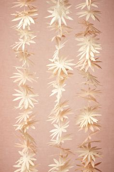 Wild Asters Garland from BHLDN