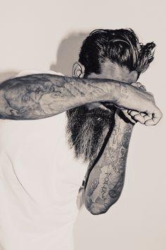 Fighting beard
