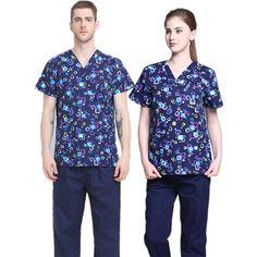 Doctor's Scrub Twill Top and Uniform Set Doctor Scrubs, Button Down Shirt, Men Casual, Costumes, Free Shipping, Mens Tops, Stuff To Buy, Shirts, Shopping