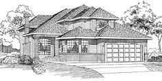 Traditional House Plan 55324