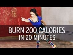 No excuses. Awesome workout bundled into a few minutes of time. Burn 200 Calories in 20 Minutes - YouTube