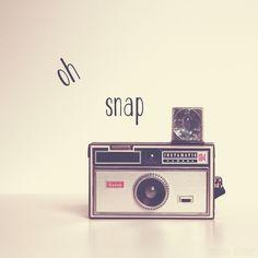 Vintage Kodak Instamatic camera.