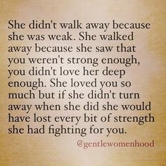 "@Regrann from @gentlewomenhood -  For those of you who had to let go to keep from losing yourself. I know it was hard, but you can't make a man love you, you can't change him, you can't force him to see what he has. Sometimes you just have to walk away and go be the best woman you can. Your heart will heal and one day you'll fall into the arms of a man who sees you as his blessing from above. Be encouraged.  ____________________________________ My book ""This Isn't It: Reviving the Woman…"
