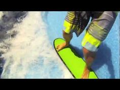 This is one of my Happy Places! Flowrider Surf Session - GoPro.