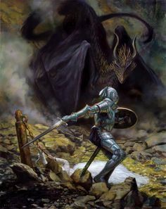 St George and the Dragon by DonatoArts on DeviantArt