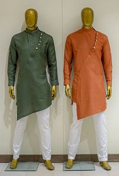 Mens Style Discover Mens Kurta Pajama: Buy Indian Kurta Suit Online for Wedding & Festival wear Buy Mens Traditional Indian Clothes Online Via Facetime & Skype Video Calling Nigerian Men Fashion, Indian Men Fashion, Mens Fashion Suits, India Fashion Men, Wedding Kurta For Men, Wedding Dresses Men Indian, Gents Kurta Design, Boys Kurta Design, Kurta Pajama Men