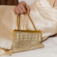 sparky bag with gold