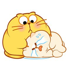 Cats With Thumbs Refferal: 8914777138 Cute Love Cartoons, Cute Cartoon, Emoji Pictures, Cute Pictures, Cute Fat Cats, Gifs Lindos, Cat Emoji, Bird Gif, Happy Birthday Pictures