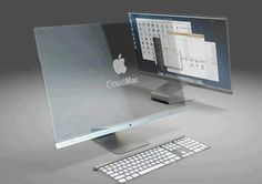 Transparent MAC concept : I will be IN LINE to get one of these when/if it ever comes to fruition!