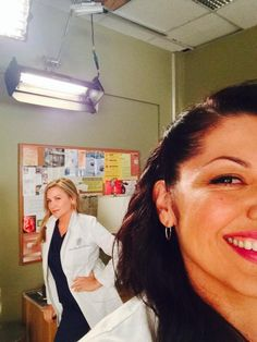 Arizona y Callie #GreysAnatomy