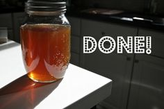 Homemade Amaretto - Makes 3 cups 1 cup water, 1 cup sugar, 1/2 cup ...