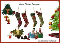 Sims 4 CC's - The Best: Christmas Deco by michelleabstuff