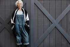 Older models: Maye Musk for James Perse - That's Not My Age
