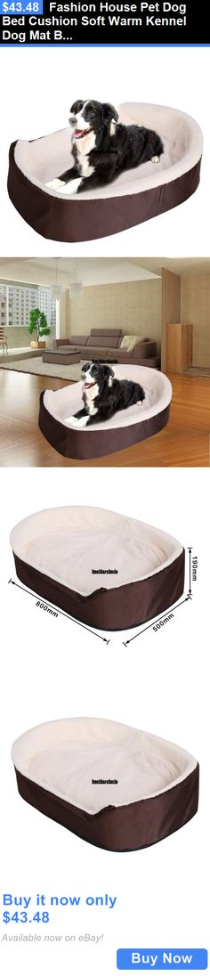 Animals Dog: Fashion House Pet Dog Bed Cushion Soft Warm Kennel Dog Mat Blanket Autumnandwinter BUY IT NOW ONLY: $43.48