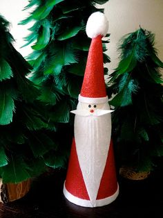 After making my feather Christmas trees I had one cone left that unfortunately I broke and was planning to throw away. Waste not want n...