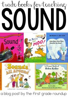 Check out this sneak peak of this first grade Next Gen Science aligned sound unit for first grade! Find tradebooks, activities, experiments and stem challenges for sound! 1st Grade Science, Kindergarten Science, Elementary Science, Elementary Music, Elementary Education, Science Resources, Science Lessons, Science Activities, Science Experiments