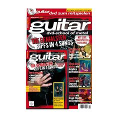 guitar Songbook mit DVD Vol. 2: School of Metal, 9,90 €