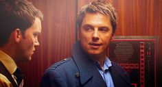 Torchwood. Captain Jack and Ianto.