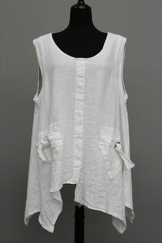 Extra Haute - La Bass Pocket Sleeveless Tunic, $139.00 (http://www.extrahaute.com/pocket-sleeveless-tunic/)