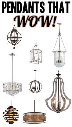 Pendants that WOW! #dreamlighting #pendants #lighting