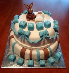 KakkuKaunis: Ristiäiskakku pojalle
