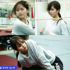 """Kim SoHyun in """"Let's fihgt ghost"""""""