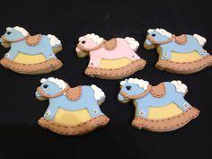 Rocking horse cookies.
