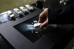 La table interactive Lexus