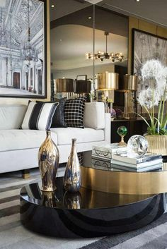 a39dd3954 The living room is one of the most crucial and important spaces in every  house, in this article you'll find inspiring living room decor, some with  luxury ...