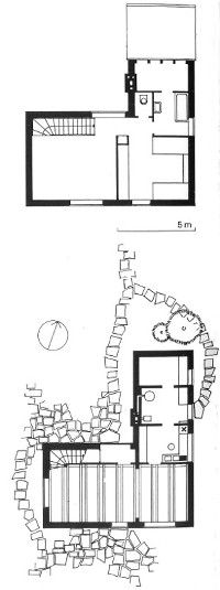 Pin von jan auf haus pinterest egon eiermann 1970er for Wohnhaus grundriss