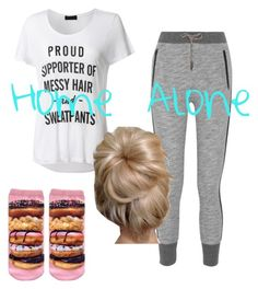"""""""Home Alone"""" by afashionfangirl230 ❤ liked on Polyvore featuring rag & bone and LE3NO"""