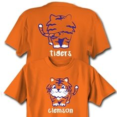 Clemson Baby Tiger Toddler Shirt!