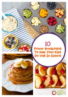 I'm trying some of these ideas for breakfast! www.superhealthykids.com