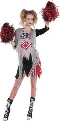 Adult Zombie Cheerleader Costume - Party City
