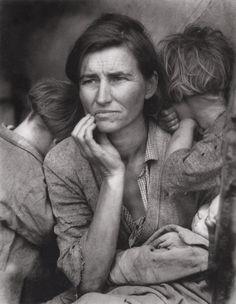 By Dorothea Lange.