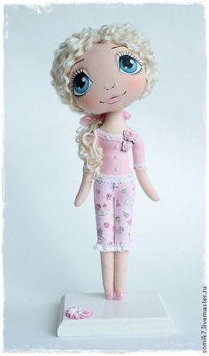 """Коллекционные куклы ручной работы: """"Розочка"""". Handmade."""