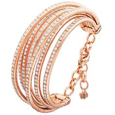 The Allegra bracelet from de Grisogono was designed with high impact in mind.