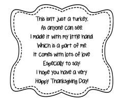 Tinker Thanksgiving kidsTinker Thanksgiving kidsThings to do and do, crafts and activities for children - The Crafty CrowCrafty Crow: Great ideas for all kinds of art projects for kids !Handprint Turkey Craft for children Thanksgiving Crafts For Toddlers, Happy Thanksgiving Day, Thanksgiving Activities, Thanksgiving Projects, Thanksgiving Turkey, Fall Crafts, Handprint Poem, Turkey Handprint, Preschool Poems