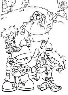 Codename Kids Next Door Tegninger til Farvelægning. Printbare Farvelægning for børn. Tegninger til udskriv og farve nº 17