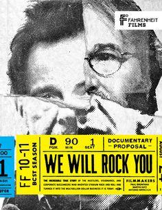 Hucklebuck Design Studio is a graphic design & branding agency in Springfield, Ohio Graphic Design Typography, Graphic Design Illustration, Leaflet Design, We Will Rock You, Design Graphique, Documentary Film, Typography Poster, Magazine Design, Graphic Design Inspiration