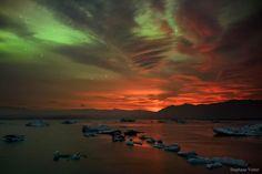 57 отметок «Нравится», 1 комментариев — Linda's Favourite (@lindasfavourites) в Instagram: «Aurora and Volcanic Light Pillar #aurora #volcanic #light #pillar  #planetearth #instafollow #igers…»