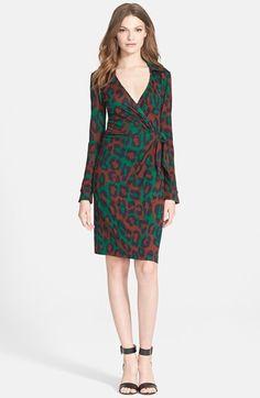 Diane von Furstenberg 'Savannah' Silk Dress available at #Nordstrom