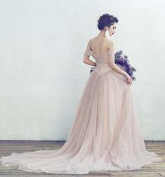 A by Hatsuko Endo - Dusty Rose, Formal Dresses, Palette, Weddings, Gallery, Fashion, Spring, Dresses For Formal, Moda