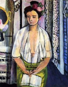Reader, Flowers in Her Hair - Henri Matisse - The Athenaeum